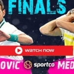 Djokovic vs Medvedev Live Stream Australian Open 2021 Men's Final Watch Online: Novak Djokovic faces Daniil Medvedev in the men's final of the 2021 Australian Open tennis tournament on Sunday, February 21, 2021 at Melbourne Park in Melbourne, Australia. You can watch it for free TV apps, Ruku, Apple TV, Amazon FireTV, LG smart TVs, Vizio smart TVs, iOS, and Android devices.