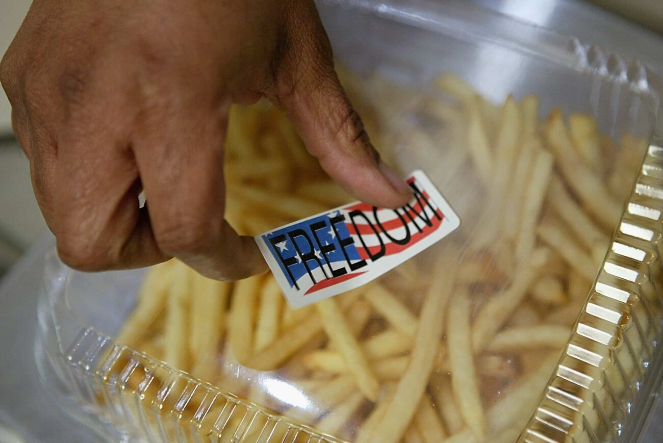Freedom fries are trending on Twitter! Grab some ketchup (or mayo, no judgment here) and reminisce about the weirdest U.S. Congress flex!