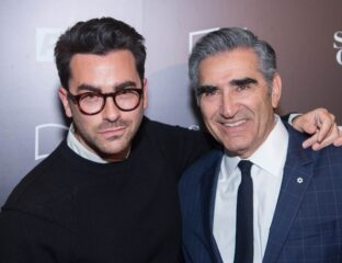 Father and son, off-screen and on-screen. How can you not love Eugene and Dan Levy? Read all about the sweet family reunion on last week's 'SNL'!