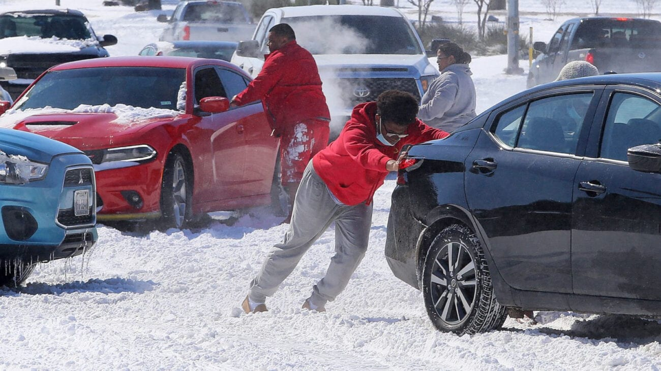 The unprecedented amount of snow hitting Texas has turned the state upside-down. See the craziest photos and footage from Winter Storm Uri here.