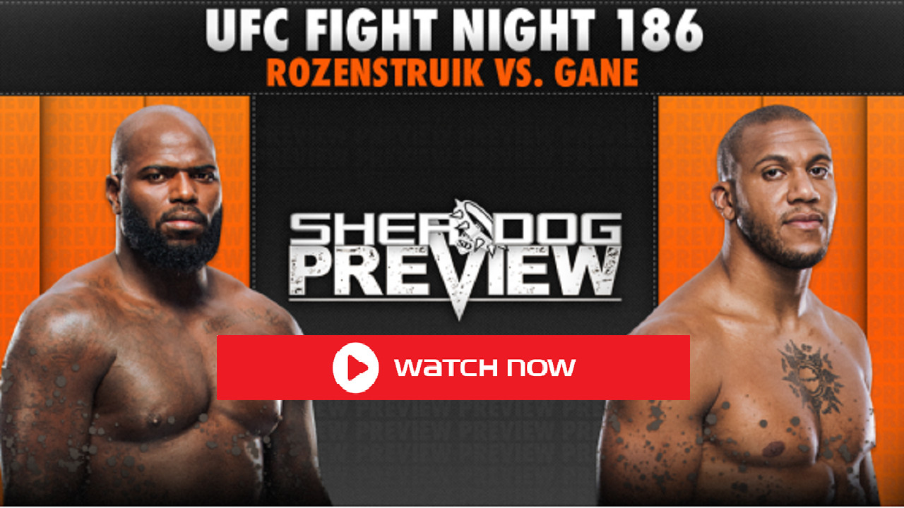 Need a place to stream UFC Fight Night tonight? Live stream the match right here, right now, with no hassle!