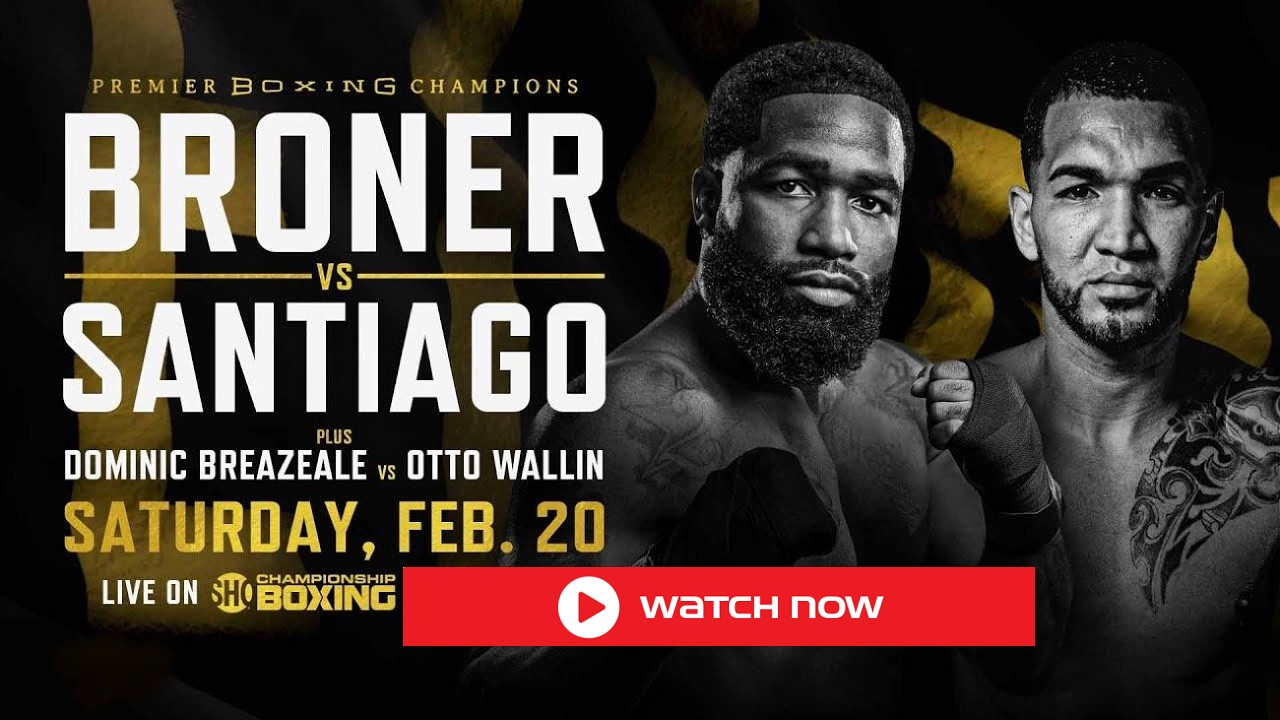 Adrien Broner is set to face Jovanie Santiago. Discover how to live stream the boxing match on Reddit for free.