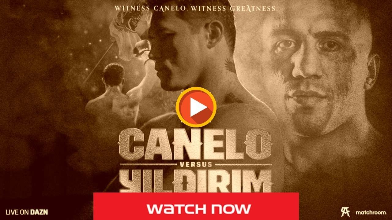 Trying to watch Canelo Alvarez vs Avni Yildirim live free on Reddit streams? Here's our guide so you can watch boxing live.