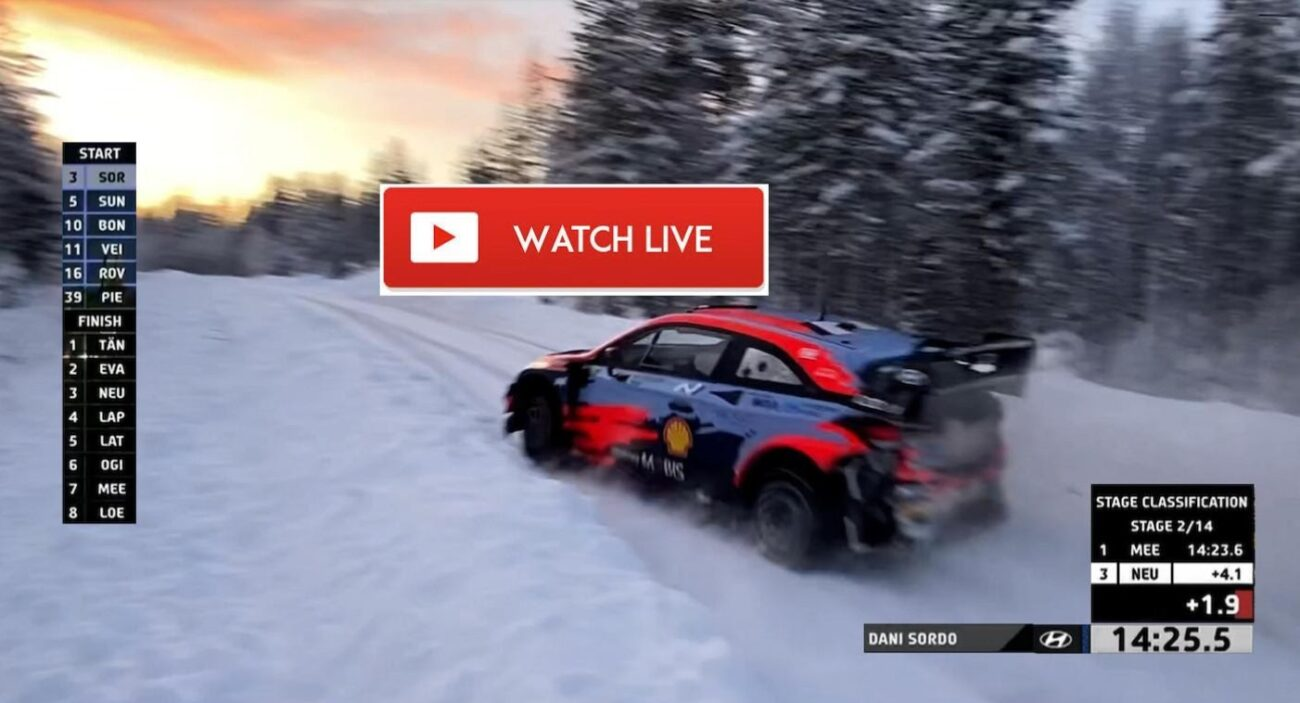 Arctic Rally Finland is here. Discover how to live stream the sporting event on Reddit for free.