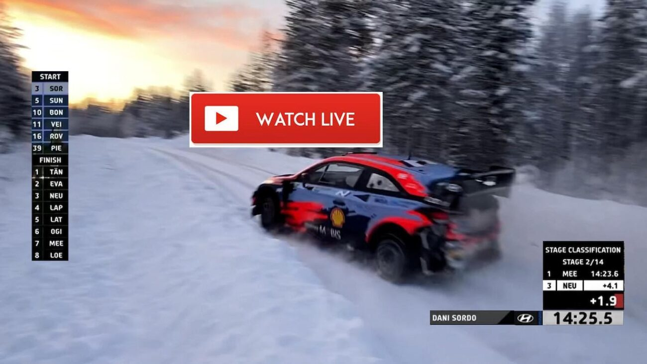 The 2021 WRC Arctic Rally Finland is taking place this weekend. Check out the best ways to watch this rally car winter event.