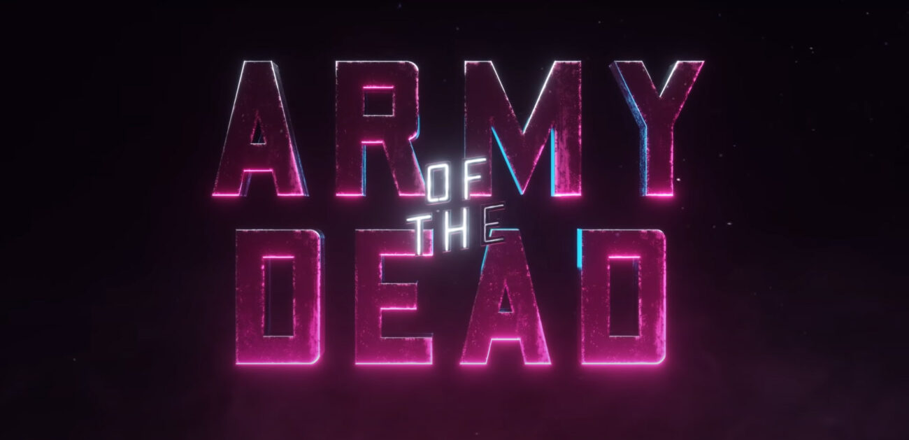 "Zack Snyder just released a new movie trailer for a zombie heist film called ""Army of the Dead"". Watch it here and learn all the details."