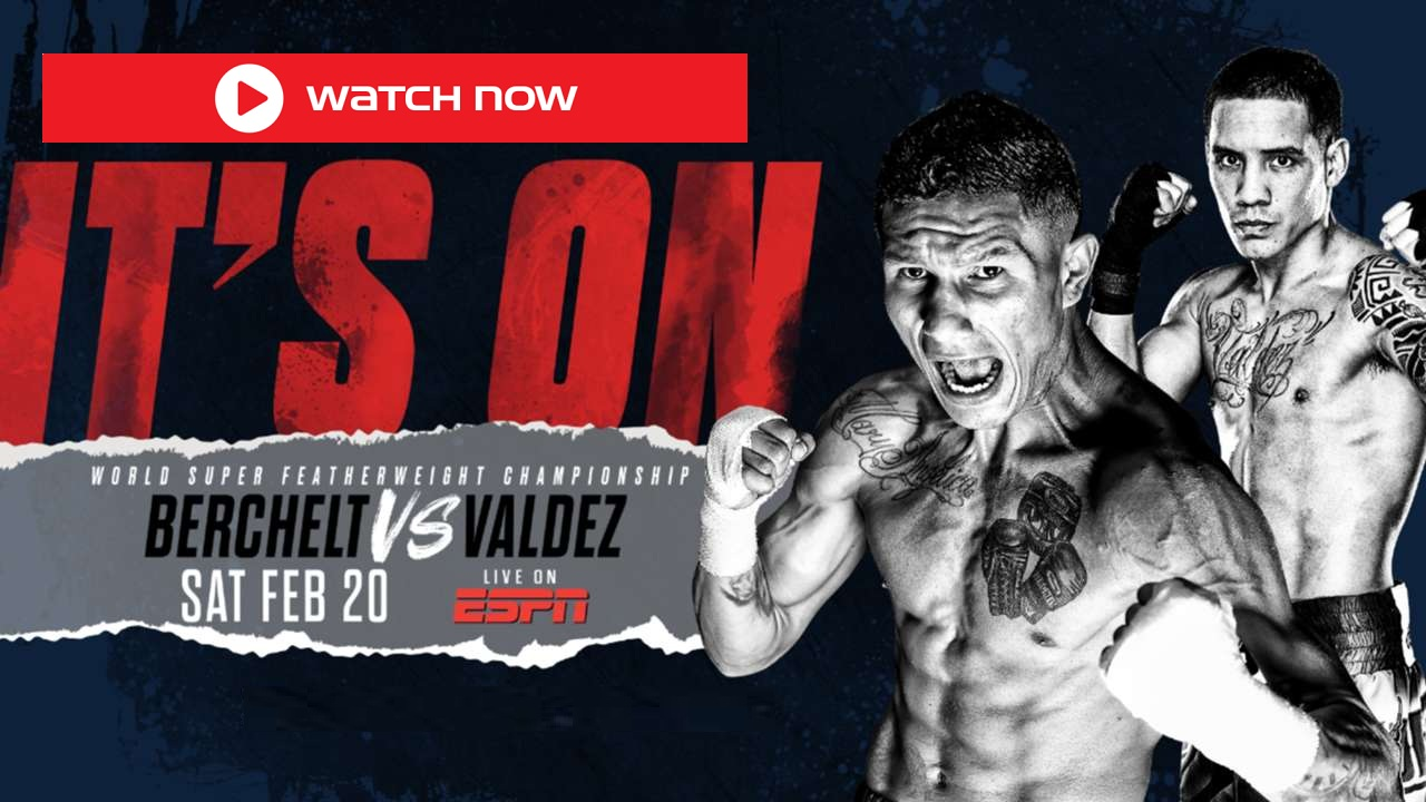 Berchelt is gearing up to face Oscar Valdez. Find out how to live stream the big fight on Reddit for free.