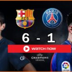 Barcelona & PSG are facing each other in the UEFA Champions League. Take a look at the best ways to watch this futbol matchup live online.