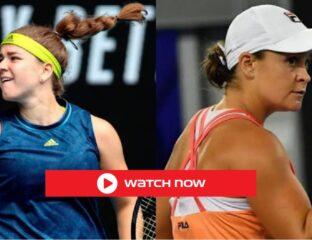 Ashleigh Barty is facing Karolina Muchova in the quarterfinals of the Australian Open. Take a look at the best ways to stream this tennis match.