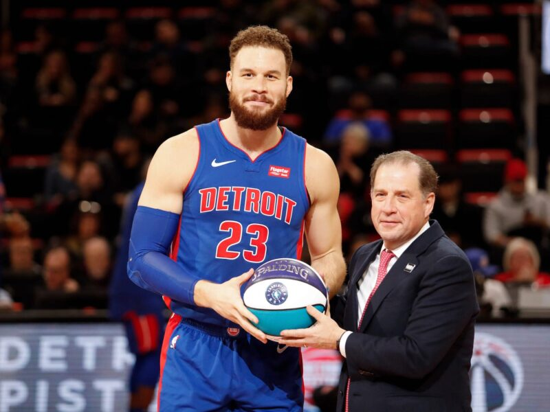 Is Blake Griffin's knee injury getting him traded from the Detroit Pistons? Here's what we know about the Pistons trading Griffin.