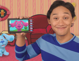 P is for pride, Blue – pride in how you're changing the world of children's TV. How did 'Blue's Clues and You' change children's TV?