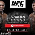 Usman is gearing up to face Burns in UFC 258. Discover how to live stream the UFC match online for free.