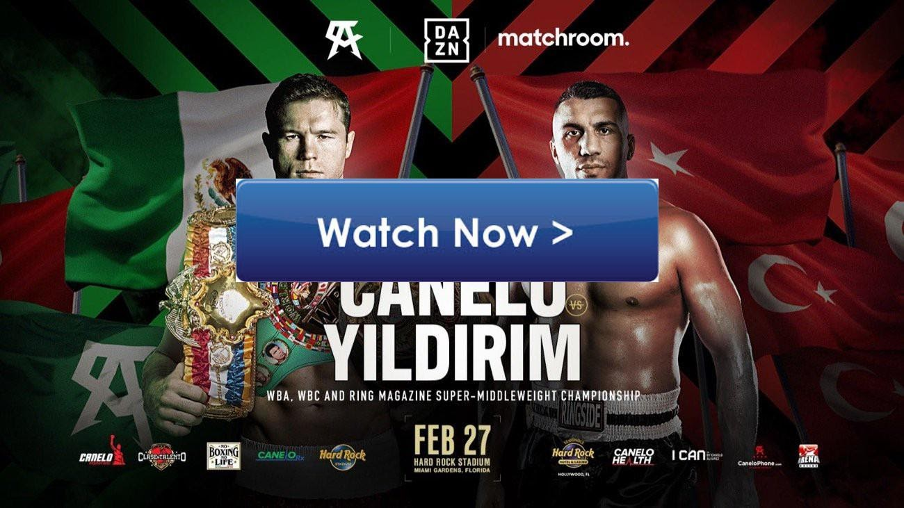 Canelo vs Yildirim is the boxing event of the month you don't want to miss. Here's how to stream the entire fight live.