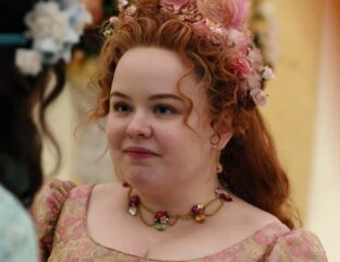 'Bridgerton' star Nicola Coughlan shares a story about how you can stab someone with a parasol (and bad luck). Dive in to learn how it happened!