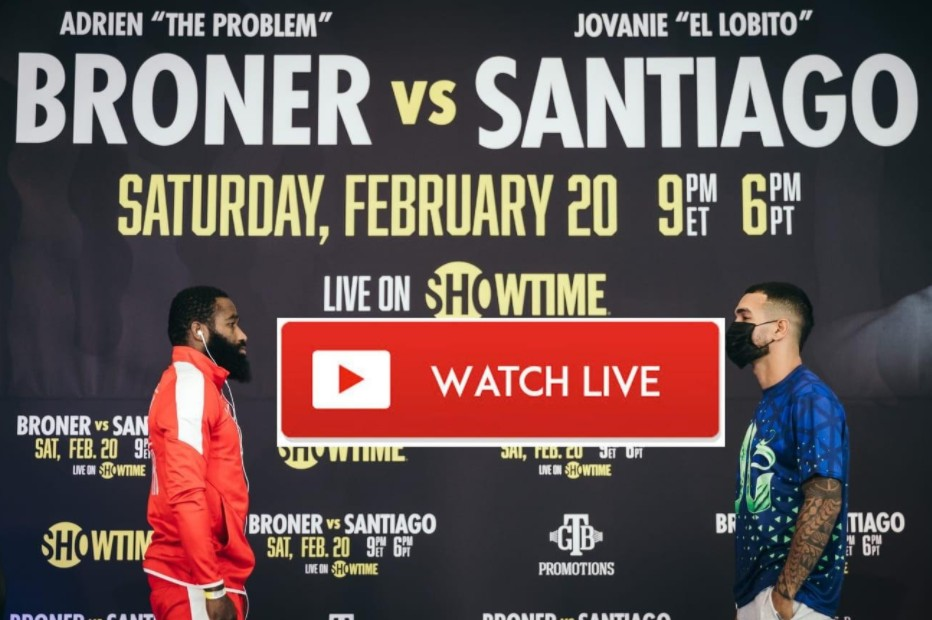 Adrien Broner is getting ready to face Jovanie Santiago. Learn how to live stream the boxing match online for free.
