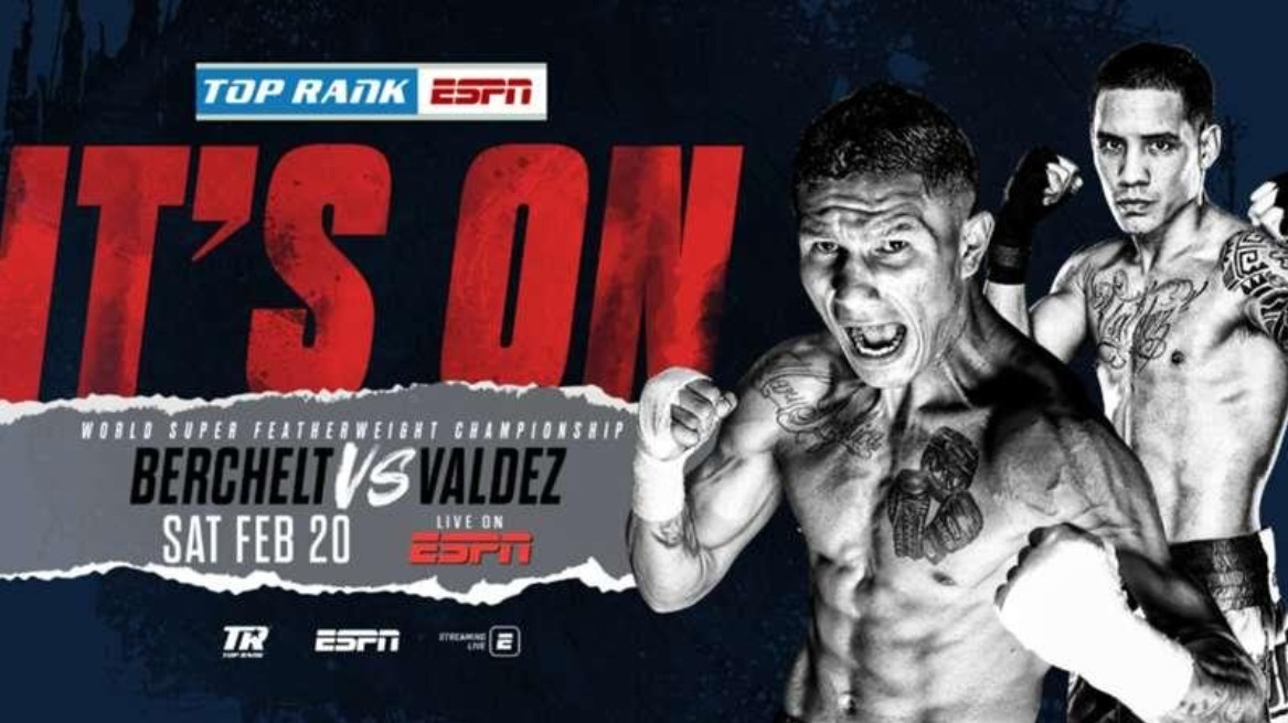 Berchelt is gearing up to face Valdez. Find out how to live stream the boxing match online for free.