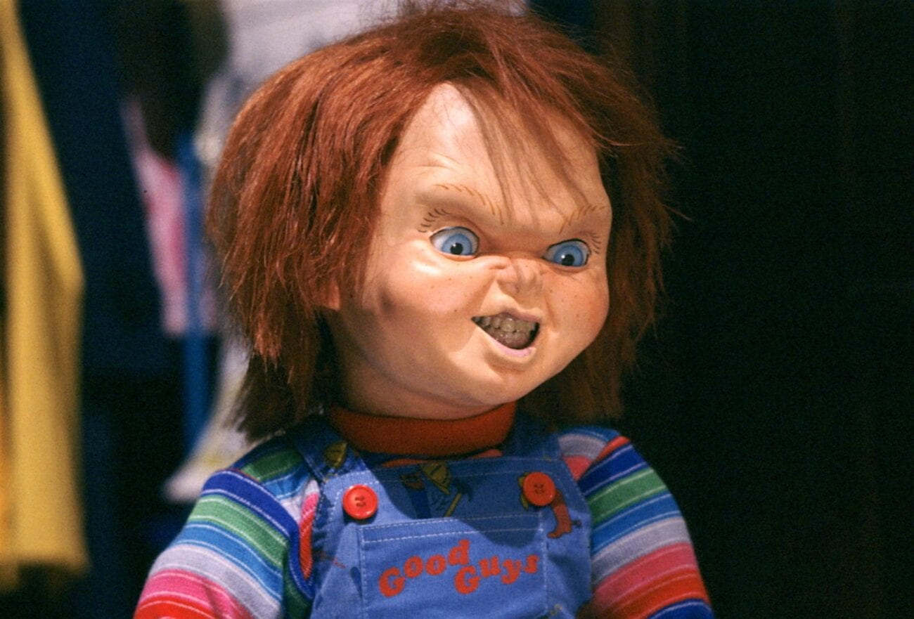 """Remember Charles Lee """"Chucky"""" Ray? A subway attack took place and it looks like Chucky is the culprit. Is this a promo for a new movie?"""