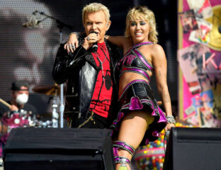 Miley Cyrus rocked the Super Bowl stage Sunday while performing her hit songs and covers. Read all about her impressive & iconic show here.