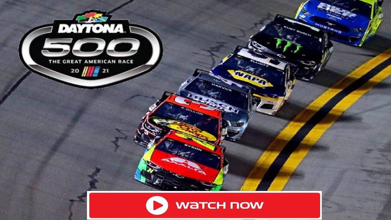The Daytona 500 takes place on Sunday at Daytona International Speedway. Take a look at the best ways to live stream this exciting NASAR race.