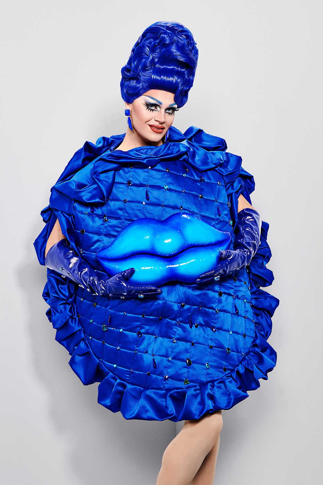 It's a bird, it's a plane! No, it's the 'Drag Race UK' queens saving the day! See our thoughts on this week's maxi challenge lewks from the top 6.