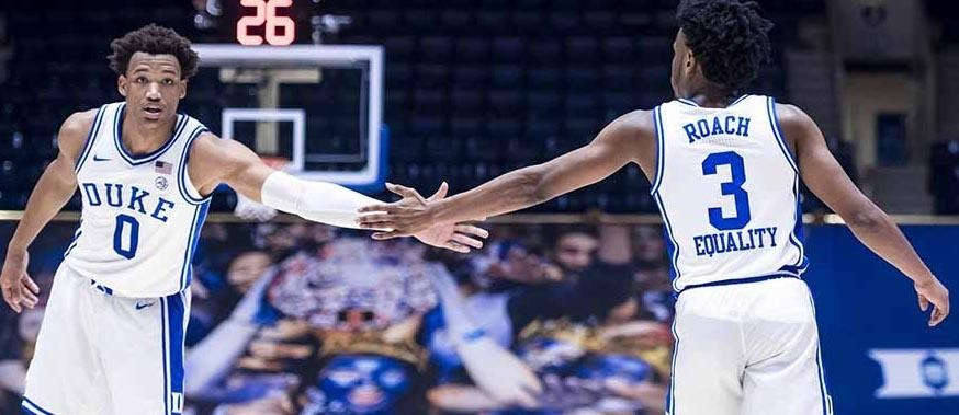 Duke vs. Notre Dame is taking place in an ACC clash. Take a look at the best ways to stream this college basketball matchup live. Duke vs. Notre Dame is taking place in an ACC clash. Take a look at the best ways to stream this college basketball matchup live.