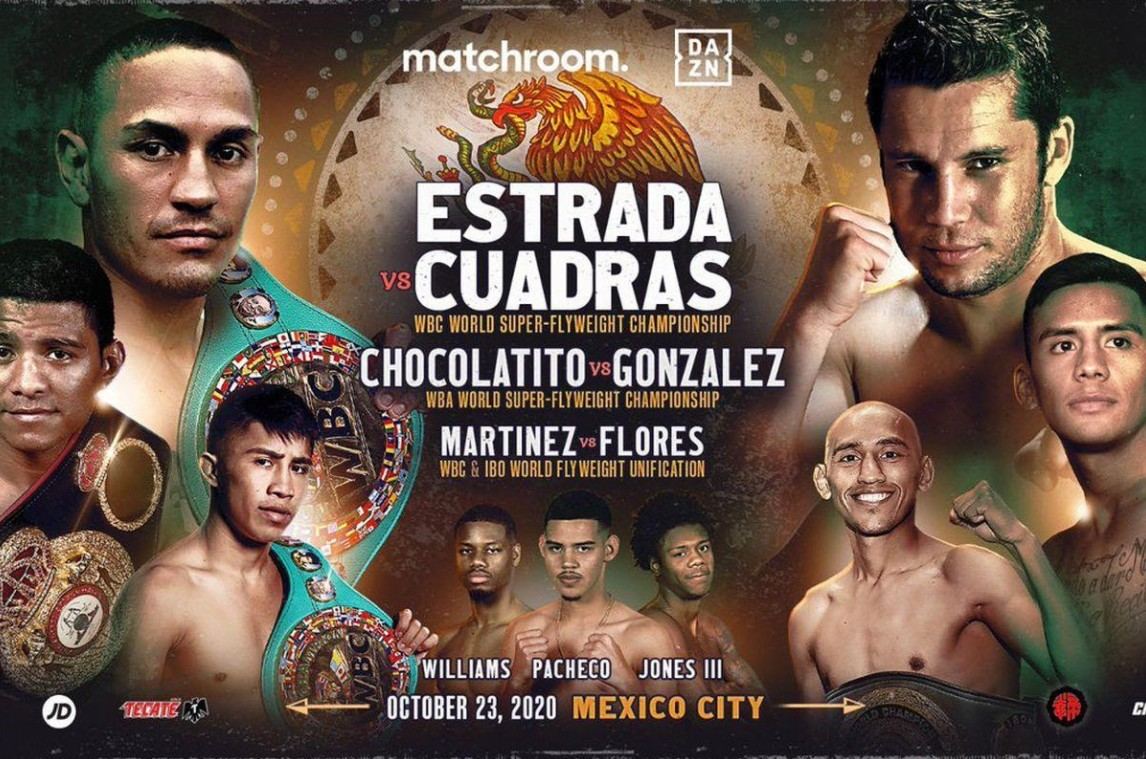 """""""Chocolatito"""" Gonzalez is gearing up to face Estrada. Find out how to live stream the match online for free."""