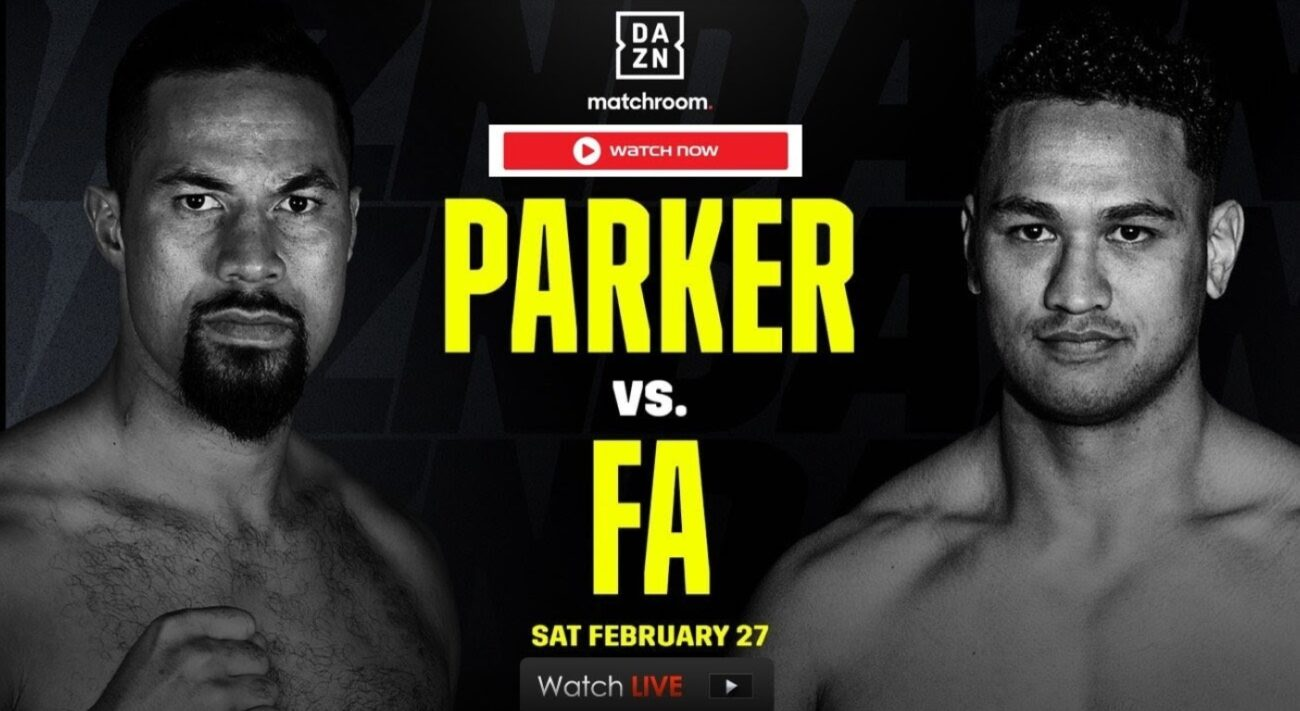 Joseph Parker is set to face off against Junior Fa. Find out how to live stream the boxing match online for free.