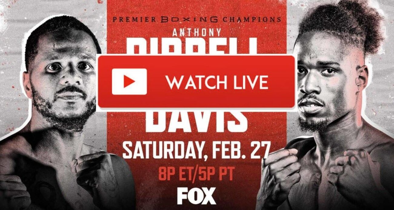 Davis is gearing up to face Dirrell in the boxing ring. Find out how to live stream the anticipated fight online for free.