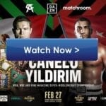 Canelo plans to take down Yildirim in the boxing ring. Find out how to live stream the match on Reddit for free.