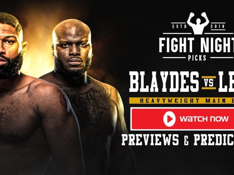 Curtis Blaydes attempting his fifth straight win in the UFC Heavyweight division against Derrick Lewis. Find the live stream now.
