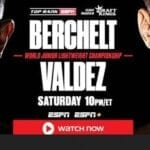 Miguel Berchelt vs. Oscar Valdez WBC super-featherweight title fight is going to begin soon. Watch the live stream now.
