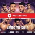 Kelly is gearing up to face Avanesyan in the boxing ring. Find out how to live stream the big match online for free.