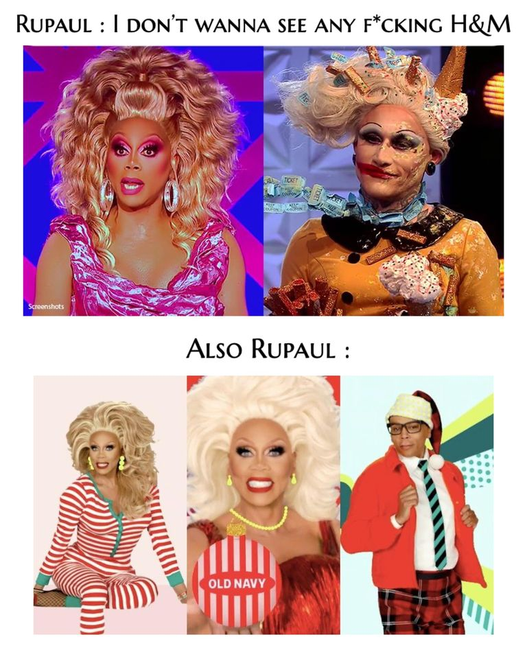 No one expected H&M to drive so much anger, but RuPaul's firey outburst on 'Drag Race UK' was something else. See all the best memes about the incident.