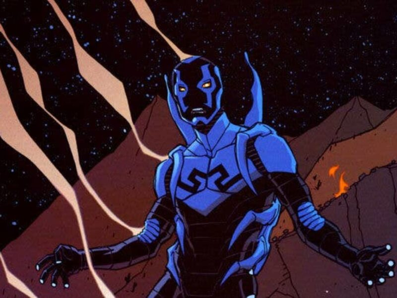 DC officially announces that a Jaime Reyes 'Blue Beetle' movie is in the works. Learn who's involved and the backstory of the Blue Beetle.