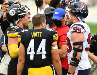 JJ Watt is a free agent with a dozen teams looking at him. Could he join his brothers in Pittsburgh or against them in Cleveland? Read the NFL news here.