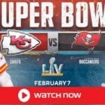 Super Bowl 2021 Live Chiefs vs Buccaneers NFL Game. It will be played on Sunday, Feb. 7, 2021 and be shown on phones and smart TVs.