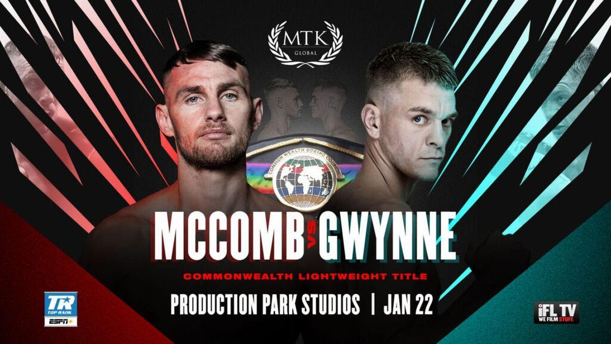 McComb vs Gwynne is just one of many boxing matches happening in the UK this weekend. Here's all the places to live stream every bout.