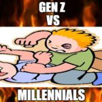 Whose team are you on: Gen Z or millennials? The fight is on. It's Millennials vs. Gen Z time and here are the best memes from the fight.