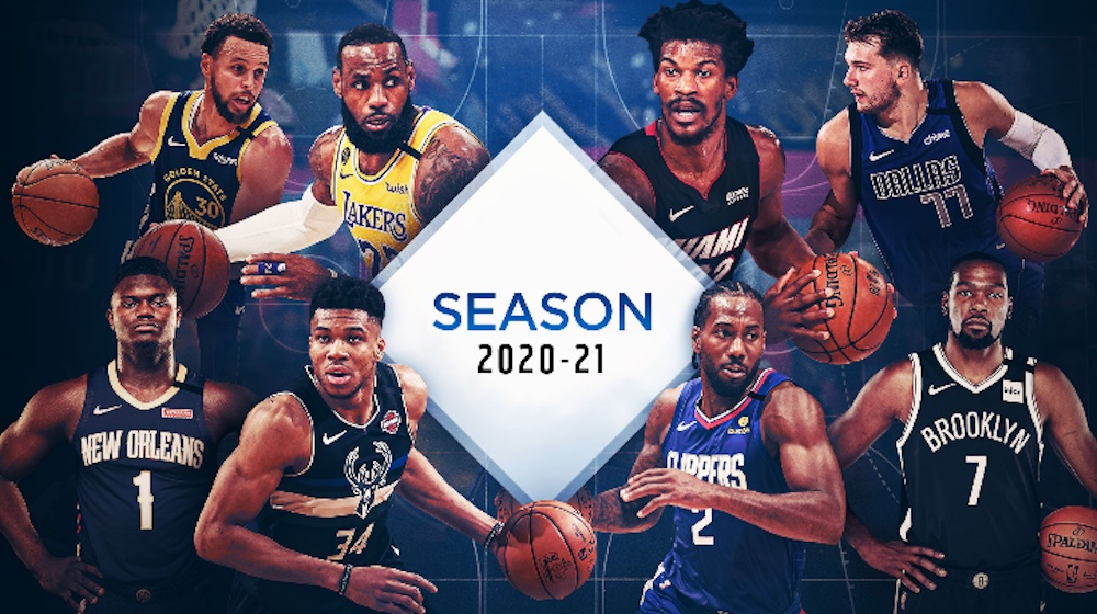 The start of the 2020–21 regular season was delayed because of the COVID-19 pandemic. Watch the NBA regular season live stream now.