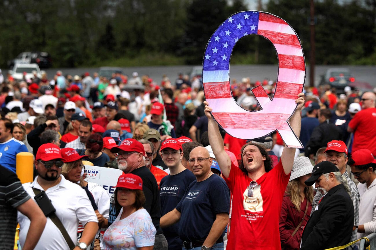 QAnon is known for spreading their easily debunked rhetoric all over the web. Find out what QAnon has to say about the impeachment trial news here.