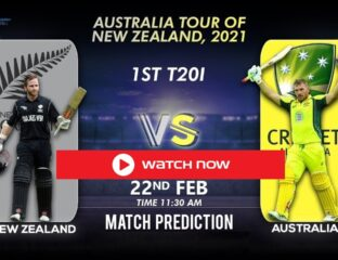 New Zealand & Australia are beginning a five-match series of Cricket before the 2021 ICC T20 World Cup. Check out the best ways to stream this match.