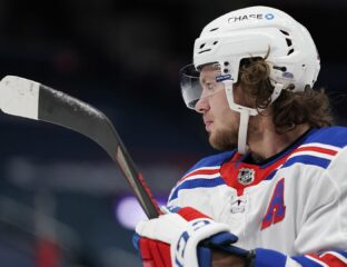 New York Rangers star winger Artemi Panarin is being accused of a 2011 abuse incident in Russia. Does this hockey player's dislike for Putin play a role?