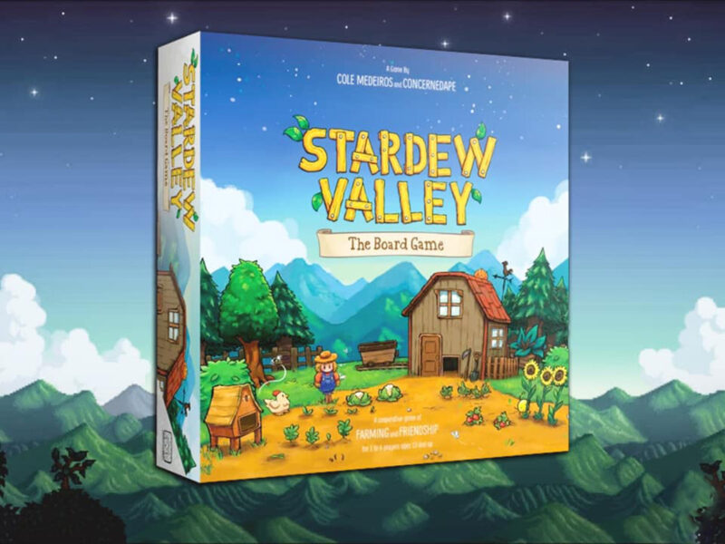The beloved indie farming game 'Stardew Valley' has transcended the virtual realm! Check out the new board game where you can play the co-op game in person.