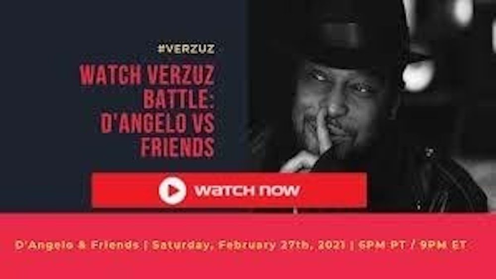 D'Angelo is set to take the stage this weekend for another legendary Verzuz battle. Find out how to stream the battle live online.