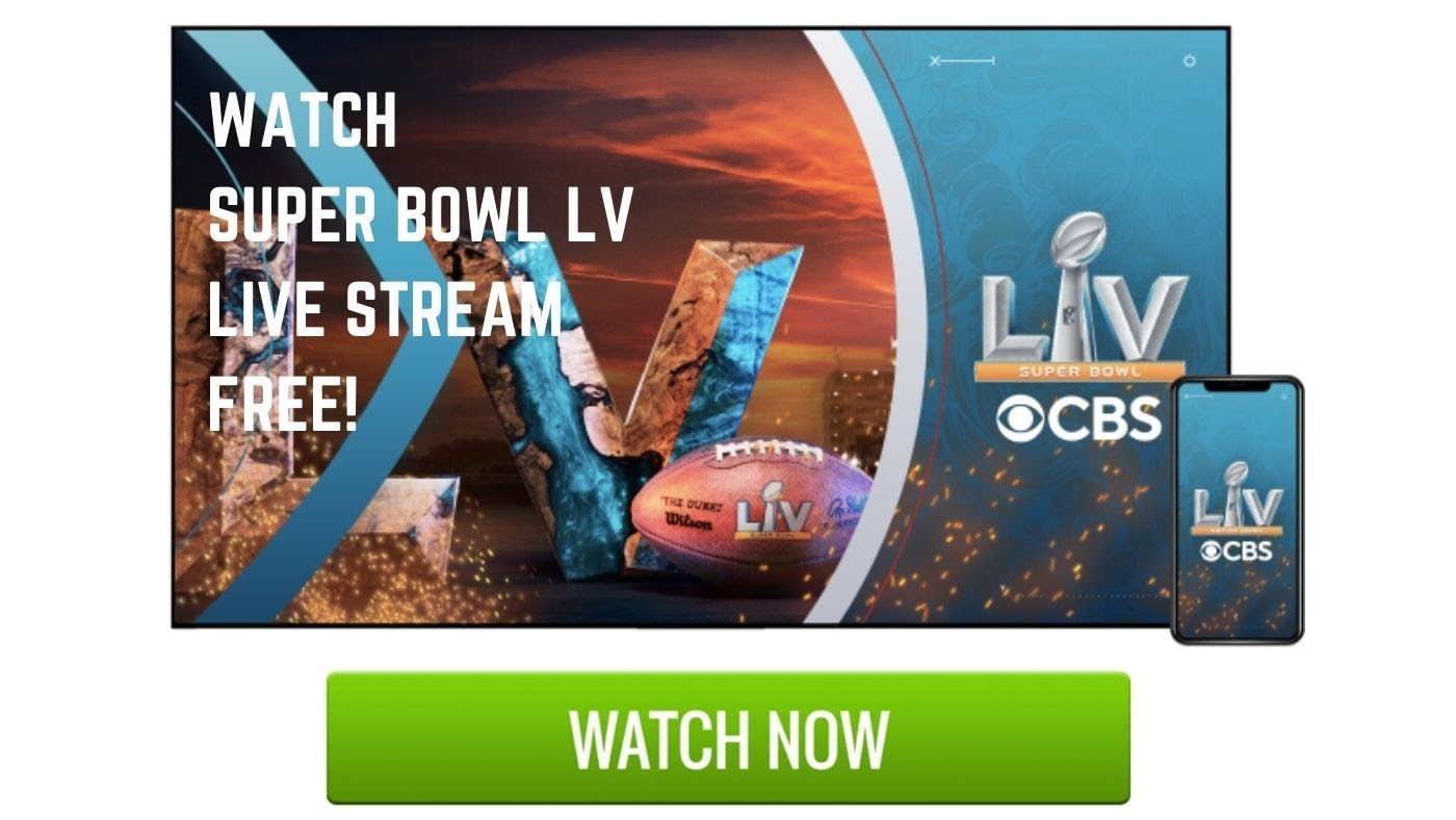 How to stream Super bowl LV. You can watch Super Bowl 2021 live on CBS & Reddit, which lets you live streaming the game on your phone, tablet, laptop or TV.