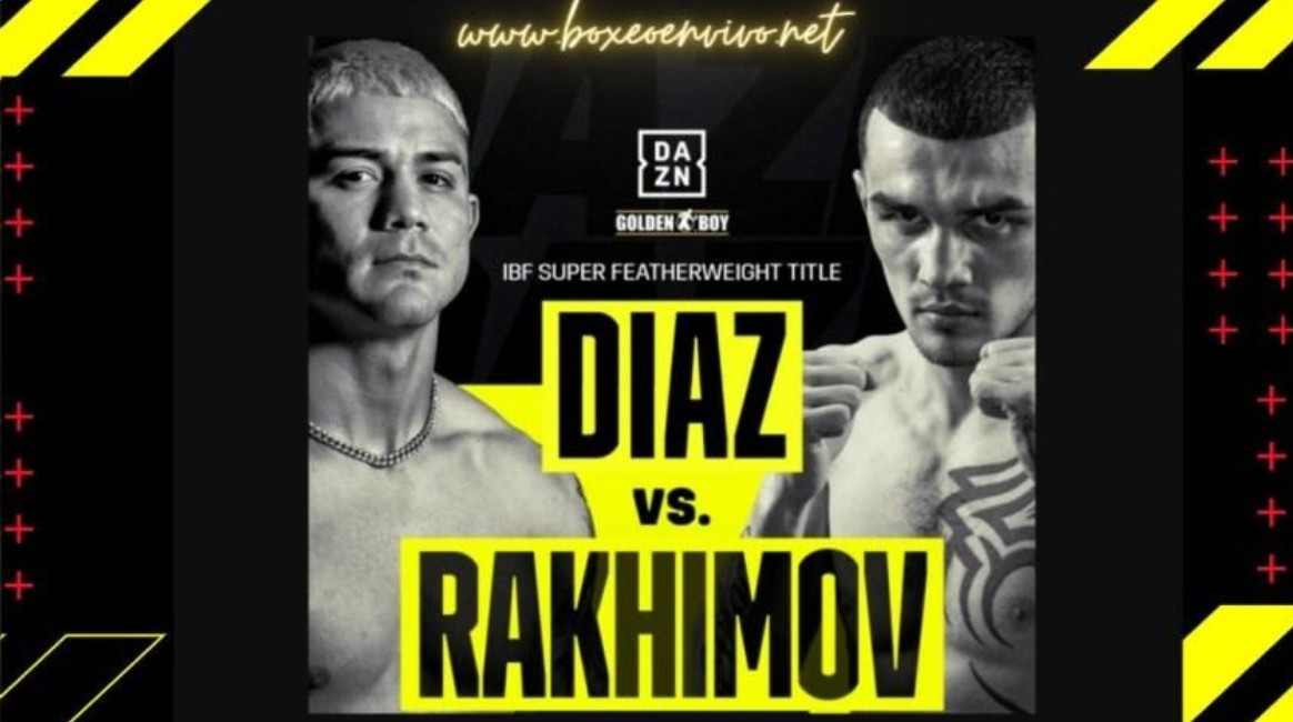 Diaz is prepping to face Rakimev on IBE boxing. Find out how to live stream the boxing match online for free.
