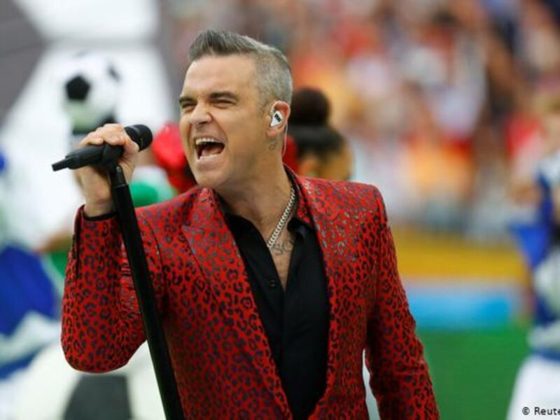 A Robbie Williams biopic is coming soon to a theater near you, but that doesn't mean people want it. Check out all the best Twitter reactions here.