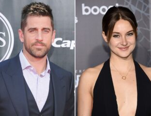 Actress Shailene Woodley may be one of Hollywood's biggest celebs. See all the cutest moments between her and Aaron Rogers.