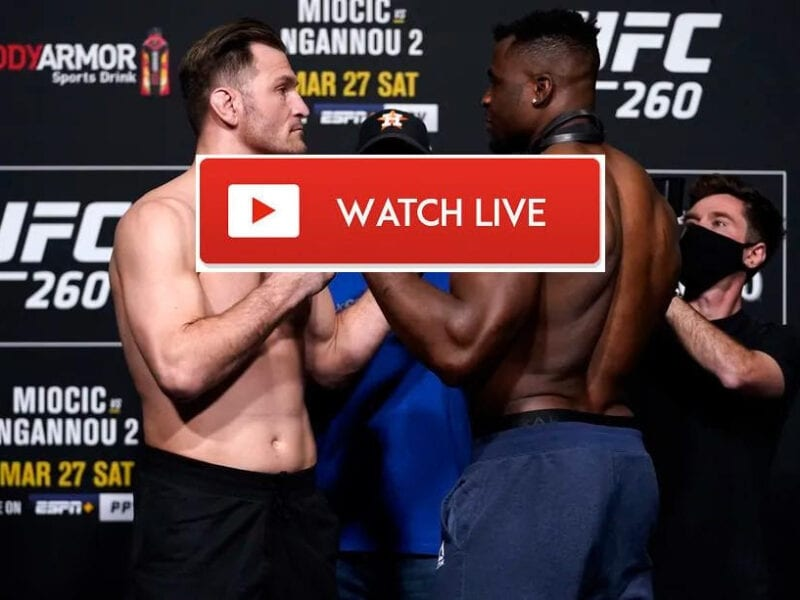 Don't miss the big MMA UFC Fight night and the headlining match: Miocic vs. Ngannou. Stream the fight from anywhere in the world with these tips!