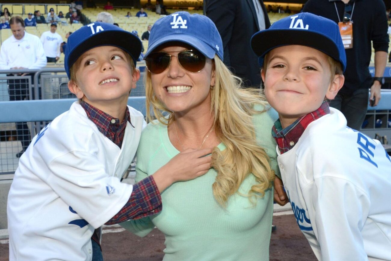 Britney Spears's kids are getting so big! How has Britney Spears been able to deal with the #FreeBritney headlines? With the help of her boys.